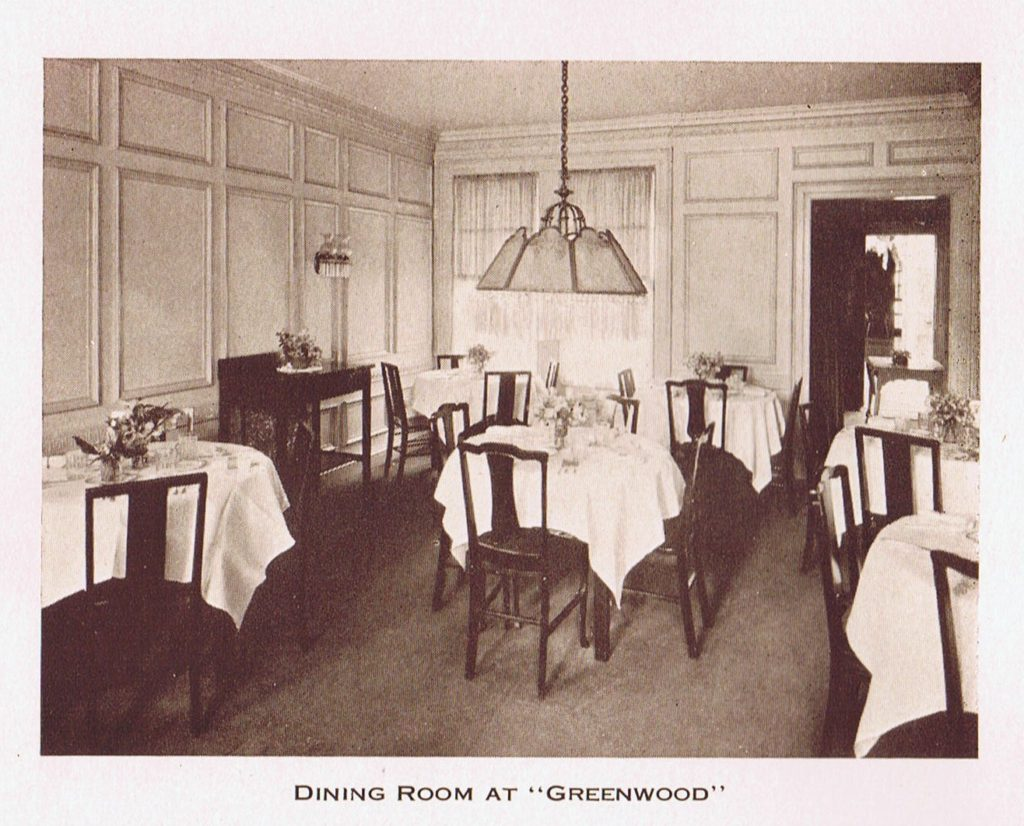 Greenwood Dining Rom